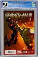 Miles Morales Ultimate Spiderman 3 Marvel 2014 CGC 9.8 Marquez Variant Top Grade