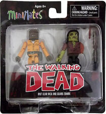 THE WALKING DEAD Series Three Minimates MISPRINTED PACKAGING NEW