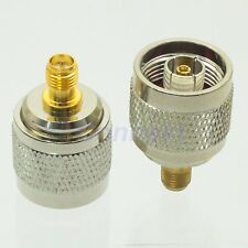 1pce RP-N male jack center to RP-SMA female plug center adapter connector