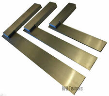 "4"" (100mm) Or 6"" (150mm) Or 8"" (200mm) Engineers  Polished Try Steel Set Square"