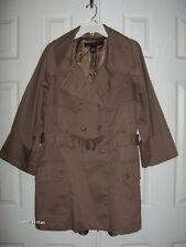 NWOT FRENCH CONNECTION LADIES TRENCH RAIN COAT SIZE 12