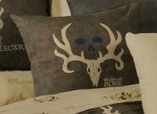 Bone Collector Decorative Throw Bedding Pillow - Antler Logo