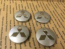 NEW MITSUBISHI SET OF 4 CENTER WHEEL WHEELS RIM RIMS CAP HUB CAPS MR992254 81MM