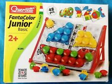 Quercetti Fantacolour Junior Basic ~ Fantacolor set 4195 : Age 2+
