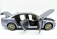 Model Car Scale 1:18 Kyosho Audi A8 IN 8 vehicles road diecast Grey