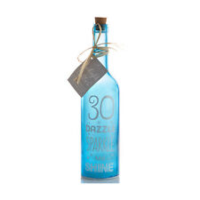 Starlight Bottle LED Light up Decoration With Message Family Friend Christmas 30