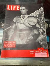 Vintage Life Magazine March 3, 1947 Renaissance Man