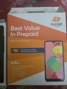 LG K22 Boost Mobile 32GB 6.2 HD brand new in opened box