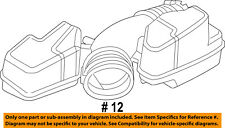FORD OEM 11-16 Explorer Air Cleaner Intake-Hose Duct Tube BB5Z9B659D