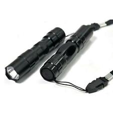 Flashlight Torch celular mini del CREE LED Light lamp bulb keychain Black waterproof