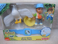Go Diego Go Action Flying Eagle Rescue Fisher Price Nick Jr Toy Figure New NIB