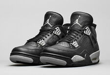 Air Jordan 4 IV Retro Black Tech Grey Oreo 2015 408452-003 bred cement