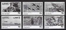 Alderney Guernsey 369-374, MNH, 2010 MNH Battle of Britain 70th Ann. x26533