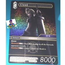 Dissidia Final Fantasy NT Trading Card Game TCG Foil Cloud (PROMO)