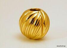 Authentic PANDORA Shine 18k Gold Seeds of Elegance Clip Charm Pendant 767578