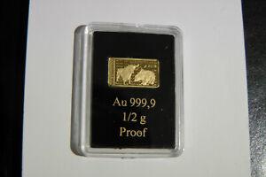Börsenbarren 2018 PP Gold 999/1000 Deutschland