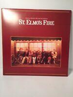 St. Elmo's Fire - Motion Picture Soundtrack - LP Record Album - Excellent Vinyl