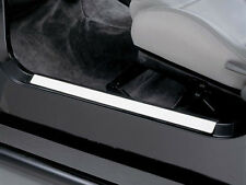 Kit protections de seuils de porte acier inox Jeep CJ, Wrangler YJ