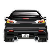 EVO X JDM Sticker Decal Car JDMSB Garage Drift Vinyl #1512K