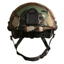 OPS/UR-TACTICAL, COVER FOR OPS-CORE FAST HELMET IN M81 WOODLAND CAMO, L/XL
