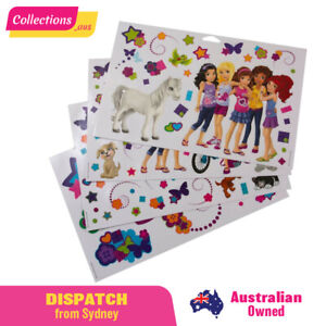 GENUINE LEGO Friends - Wall Stickers - 851417 - Fast FREE shipping from Sydney!