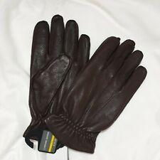M&S Mens Brown Genuine leather Gloves UK/EU L RRP 35
