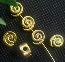 Free Ship 20PCS Tibetan Glod Spacer Beads For Jewelry Making Craft 8x3.5mm