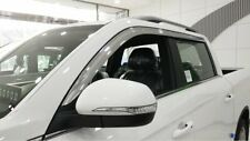 Auto Clover Chrome Wind Deflectors Set for Ssangyong Musso 2019+ (4 pieces)