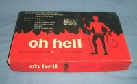 VTG 1973 CADACO OH Hell Bidding Card Board Game Complete Devil on Box