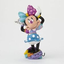 Disney Britto Minnie Mouse Arms up Mini Figurine 4049373 Authentic