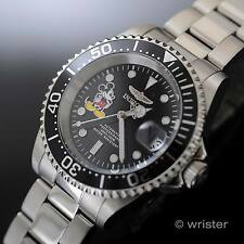Invicta Disney Mickey Mouse Pro Diver L.E. Black Dial Stainless Steel Mens Watch