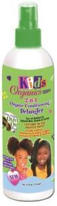AFRICA'S BEST KIDS ORIGINALS 2 IN 1 NATURAL CONDITIONING DETANGLER SPRAY 12OZ