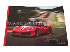 2018 FERRARI 488 PISTA VIP HARDCOVER PROSPEKT BROCHURE CATALOG IT/GB 6196/18