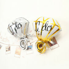 Gold/Silver Big Diamond Ring Foil Balloon Helium Engagement Hen Party Decoration