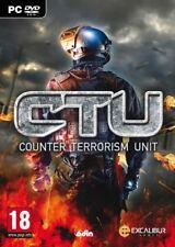 CTU Counter Terrorism Unit PC DVD jeu PC neuf new sous blister