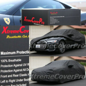 2020 2021 AUDI A5 S5 RS5 BREATHABLE CAR COVER W/MIRROR POCKET - BLACK