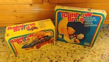 LOT Color Buggy Rainbow Brite Car MIB and Color Pockets Wallhaning MISB