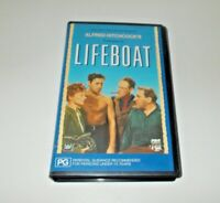 Lifeboat VHS Pal CBS Fox Hitchcock