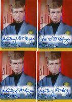 Star Trek TOS Archives & Inscriptions LE autograph A311 John Hugh McKnight
