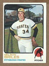 1973 Topps #303 Nelson Briles  Pirates        (20%  *Rebate w 10 Item Order!)