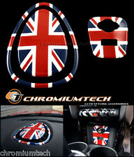 MINI Cooper/S/ONE F55 F56 F57 Union Jack Centre Dashboard Panel Cover USB Panel