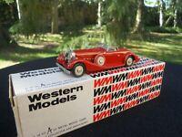 WESTERN  MODELS 20X HISPANO SUIZA 68 V12 CARROSSERIE SAOUTCHIK 1933 SUPERBE !...