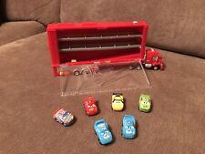 Disney Mac Truck Drifter Including 6 Micro Drifter Cars