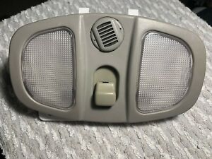 Saturn Vue Equinox Torrent OEM interior dome light sunroof switch with mic