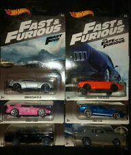 HOT WHEELS FAST AND FURIOUS Set of 6 Cars SKYLINE GT-R S2000 LAMBO GT40 Walmart