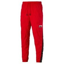 Pantalone Puma Avenir Woven Pants Rosso 596461-11 Uomo