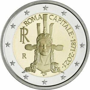 Pièce de 2 euro commémorative Italie 2021 - Rome, capitale depuis 1871