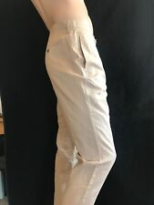 "BNWT GIANNI FERAUD Gents Linen & Cotton Henry Cropped Chinos Waist 36"" RRP £75"