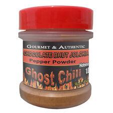 Bhut Jolokia Chocolate Powder 1/2oz Spice Jar | Chocolate Ghost Pepper