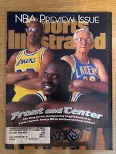 Shaq, Kareem & Mikan Sports Illustrated, November 11, 1996